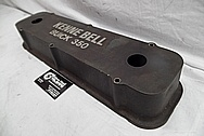 Aluminum Kenne Bell Valve Covers BEFORE Chrome-Like Metal Polishing and Buffing Services / Restoration Services