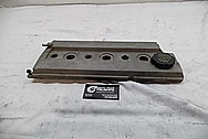 1994 Oldsmobile Cutlass Supreme Aluminum Valve Cover BEFORE Chrome-Like Metal Polishing and Buffing Services / Restoration Services