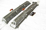 1993-1998 Toyota Supra Turbo 2JZ-GTE Aluminum Valve Covers BEFORE Chrome-Like Metal Polishing and Buffing Services
