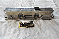 GM 3800 Engine Aluminum Valve Cover BEFORE Chrome-Like Metal Polishing and Buffing Services / Restoration Service