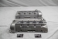 2003 Ford Mustang Cobra 32Valve V8 SVT Aluminum Valve Covers BEFORE Chrome-Like Metal Polishing and Buffing Services / Restoration Services