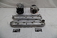 Aluminum Valve Covers BEFORE Chrome-Like Metal Polishing - Aluminum Valve Coverl Polishing