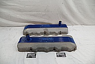 Ford 427 SOHC Valve Covers BEFORE Chrome-Like Metal Polishing - Aluminum Polishing Services - Custom Painting Services