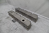 1997 Dodge Viper Magnesium Valve Covers BEFORE Chrome-Like Metal Polishing and Buffing Services - Magnesium Polishing
