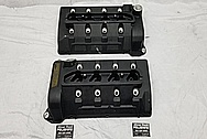 Ford GT500 Aluminum Valve Covers BEFORE Chrome-Like Metal Polishing - Aluminum Polishing Services