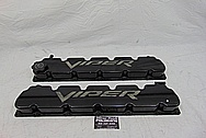 2003 - 2006 Dodge Viper Aluminum Valve Covers BEFORE Chrome-Like Metal Polishing - Aluminum Polishing Services