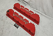 2003 - 2006 Dodge Viper Valve Covers BEFORE Chrome-Like Metal Polishing and Buffing Services / Restoration Services - Aluminum Polishing