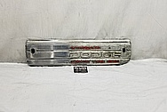 Dodge Aluminum Valve Cover BEFORE Chrome-Like Metal Polishing - Aluminum Polishing