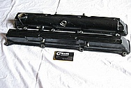 1993-1998 Toyota Supra 2JZ-GTE Aluminum Valve Covers BEFORE Chrome-Like Metal Polishing and Buffing Services