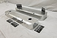 Pontiac Aluminum Valve Covers BEFORE Chrome-Like Metal Polishing - Aluminum Polishing Services Plus Custom Painting