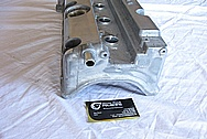 2007 Honda Civic SI Aluminum Valve Cover BEFORE Chrome-Like Metal Polishing and Buffing Services
