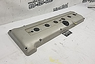 Aluminum Valve Cover BEFORE Chrome-Like Metal Polishing and Buffing Services / Restoration Services - Aluminum Polishing Plus Custom Painting Service