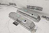 Aluminum Valve Covers BEFORE Chrome-Like Metal Polishing - Aluminum Polishing - Valve Cover Polishing