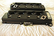 Ford Shelby GT500 V8 Aluminum Valve Covers BEFORE Chrome-Like Metal Polishing and Buffing Services