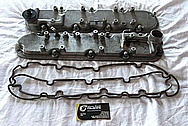 Chevy LS Valve Covers BEFORE Chrome-Like Metal Polishing and Buffing Services / Restoration Services