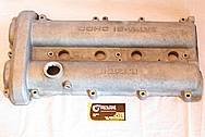 2000 Mazda Miata DOHC 16 Valve Aluminum Valve Cover BEFORE Chrome-Like Metal Polishing and Buffing Services