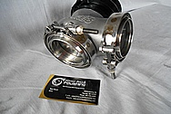 Percision Turbo Aluminum Wastegate BEFORE Chrome-Like Metal Polishing and Buffing Services / Restoration Services