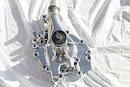 V8 Aluminum Waterpump AFTER Chrome-Like Metal Polishing and Buffing Services