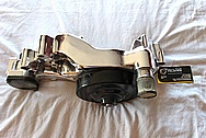 2011 Chevy LS1 Aluminum Water Pump AFTER Chrome-Like Metal Polishing and Buffing Services
