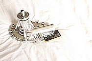 Engine Aluminum Water Pump AFTER Chrome-Like Metal Polishing and Buffing Services / Restoration Services