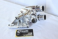 Ford Mustang Water Pump Piece AFTER Chrome-Like Metal Polishing and Buffing Services / Restoration Services