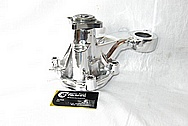1950 Led Sled Mercury Aluminum Water Pump AFTER Chrome-Like Metal Polishing and Buffing Services / Restoration Services