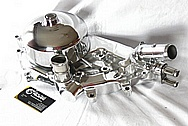 2000 Chevy Corvette Aluminum Water Pump AFTER Chrome-Like Metal Polishing and Buffing Services / Restoration Services
