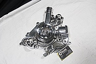 Aluminum Water Pump & Pulley AFTER Chrome-Like Metal Polishing and Buffing Services / Restoration Services