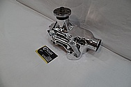 Aluminum V8 Engine Waterpump AFTER Chrome-Like Metal Polishing and Buffing Services / Restoration Services