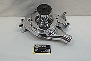 Aluminum Water Pump AFTER Chrome-Like Metal Polishing and Buffing Services / Restoration Services