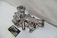 Steel Water Pump for 1965 Cadilliac AFTER Chrome-Like Metal Polishing and Buffing Services / Restoration Services