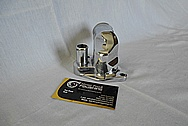 Aluminum Water Pump Piece AFTER Chrome-Like Metal Polishing and Buffing Services / Restoration Services