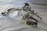 Aluminum Water Pump for Mozda RX7 AFTER Chrome-Like Metal Polishing and Buffing Services / Restoration Services
