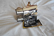 Aluminum Thermostat Housing AFTER Chrome-Like Metal Polishing and Buffing Services / Restoration Services