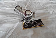 Pontiac OHC Aluminum Thermostat Housing AFTER Chrome-Like Metal Polishing and Buffing Services / Restoration Services