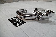 Jaguar Aluminum Water Pipe AFTER Chrome-Like Metal Polishing and Buffing Services / Restoration Services