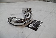 GM Aluminum Water Pump BEFORE Chrome-Like Metal Polishing and Buffing Services / Restoration Services