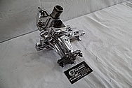 Toyota Supra 2JZ-GTE Aluminum Water Pump AFTER Chrome-Like Metal Polishing - Aluminum Polishing
