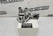 Aluminum Water Pump Housing Project AFTER Chrome-Like Metal Polishing - Aluminum Polishing - Waterpump Polishing