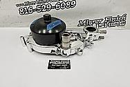 Aluminum Water Pump AFTER Chrome-Like Metal Polishing - Aluminum Polishing - Waterpump Polishing