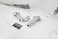 Toyota Supra Aluminum Water Piece AFTER Chrome-Like Metal Polishing - Aluminum Polishing - Waterpump Parts Polishing - 2JZ-GTE