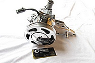 Toyota Supra 2JZGTE Aluminum Waterpump AFTER Chrome-Like Metal Polishing and Buffing Services