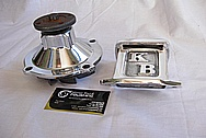 Hemi 426 Aluminum Waterpump AFTER Chrome-Like Metal Polishing and Buffing Services