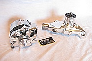 1967 Chevy Camaro V8 Water Pump AFTER Chrome-Like Metal Polishing and Buffing Services