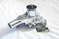 1989 Chevy Camaro V8 350 Cu. In. 5.7L Engine Aluminum Water Pump AFTER Chrome-Like Metal Polishing and Buffing Services