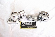 Chevrolet ZL-1 V8 Aluminum Thermostat Housing AFTER Chrome-Like Metal Polishing and Buffing Services