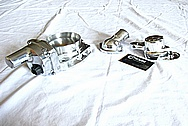 Chevrolet Camaro LS3 Aluminum Thermostat Housing AFTER Chrome-Like Metal Polishing and Buffing Services