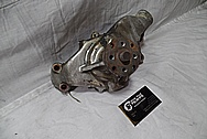 Aluminum V8 Engine Waterpump BEFORE Chrome-Like Metal Polishing and Buffing Services / Restoration Services