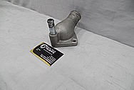 Aluminum Thermostat Housing BEFORE Chrome-Like Metal Polishing and Buffing Services / Restoration Services