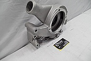 Aluminum Water Pump BEFORE Chrome-Like Metal Polishing and Buffing Services / Restoration Services